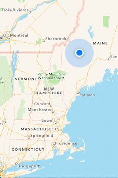 Kingfield Maine Map.Deer Farm Camps Campground